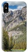 Bow River Banff Alberta IPhone Case