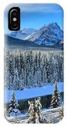 Bow River Valley View IPhone Case