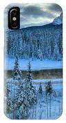 Bow Valley River Giant Panorama IPhone Case