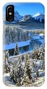 Bow Valley Winter View IPhone Case