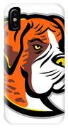 Boxer Dog Mascot IPhone Case