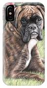 Boxer Girl IPhone Case