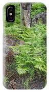 Bracken Fern Meadow IPhone Case