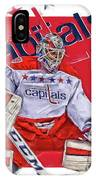 Braden Holtby Washington Capitals Oil Art IPhone Case