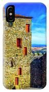 Braganca Castle Tower IPhone Case