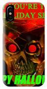 Brain Desert Halloween Card IPhone Case