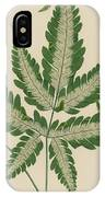 Brake Fern IPhone Case