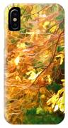 Branch Of Autumn Leaves IPhone Case