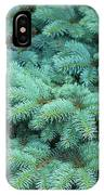 Branches Of Blue Spruce IPhone Case
