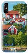 Brandaholm Cottages IPhone Case