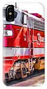 Branson Engine 98 IPhone Case