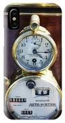 Brass Auto-meter Speedometer IPhone Case