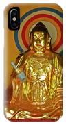 Brass Buddha Emei IPhone Case