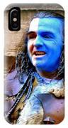 Braveheart Busker In Edinburgh IPhone Case