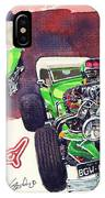 Brazilian Hot Rod V8 IPhone Case