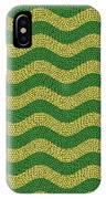 Brazilian Paving Pattern In Brazilian Colours. IPhone Case