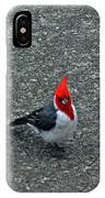 Brazillian Cardinal IPhone Case
