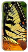 Breakfast At The Gardens - Swallowtail Butterfly 005 IPhone Case