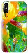 Breakfast Time Oj Irises IPhone Case