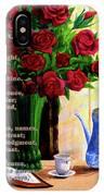 Breath Of Rose IPhone Case