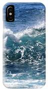 Breathe Like Water Kashmir Blue Sapphire IPhone Case