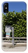 Brevard County Florida Beaches IPhone Case