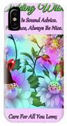 Brian Exton Celestial Flowers  Bigstock 164301632  2991949 IPhone Case