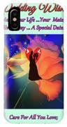 Brian Exton Orange Rose  Bigstock 164301632  2991949  12779828 IPhone Case
