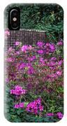 Brick Wall And Azalea IPhone Case