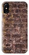 Vine Up A Brick Wall  IPhone Case