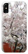 Bricks And Blossoms IPhone Case