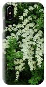 Bridal Wreath IPhone Case