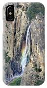 Bridalveil Falls From Above - Yosemite IPhone Case