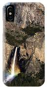 Bridalveil Falls Rainbow #3 IPhone Case
