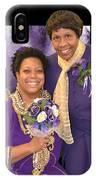 Bride And Aunt  IPhone Case