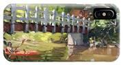 Bridge At Ellicott Creek Park IPhone X Case