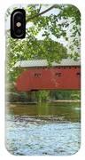 Bridge At The Green IPhone Case