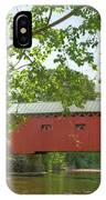 Bridge At The Green - Widescreen IPhone Case