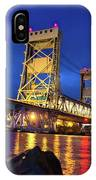 Bridge Houghton/hancock Lift Bridge -2669 IPhone Case