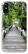 Bridge In Kosrae IPhone Case