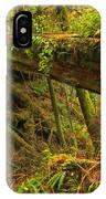 Bridge In The Rainforest IPhone Case