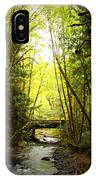 Bridge In The Rainforest IPhone Case