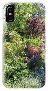 Bridge Of Flowers Walkway IPhone Case