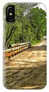 Bridge On Mill Rd.  IPhone Case