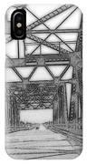 Bridge Over Mississippi IPhone Case