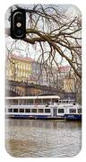 Bridge Over River Vltava IPhone Case