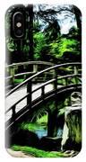 Bridge Over The Stream IPhone Case