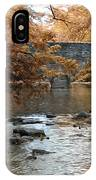 Bridge Over The Wissahickon At Valley Green IPhone Case