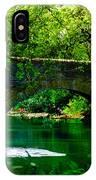 Bridge Over The Wissahickon IPhone Case