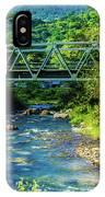 Bridge Over Tropical Dreams IPhone Case